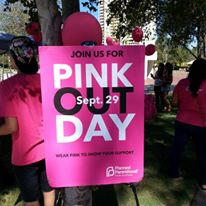 Planned Parenthood Nation Pink Out Day at UCR