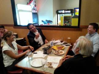 Meeting 2015 at Round Table Pizza