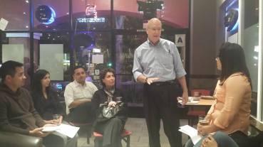Bill Hedrick addressing RCYD
