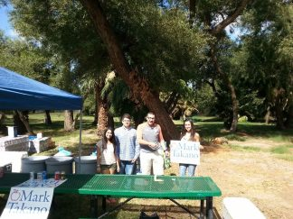 RCYD serving drinks at IBEW Member Picnic