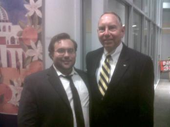 RCYD Political Director Jared and General Richard Roth, State Senator CA-31