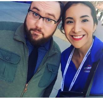 Jared and Clarissa at CADEM 2016